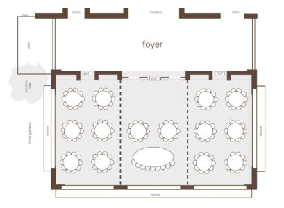 Suggested Floor Plan